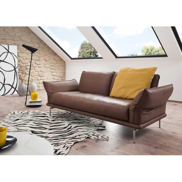 machalke ledersofa denver polster galerie harald zapf. Black Bedroom Furniture Sets. Home Design Ideas